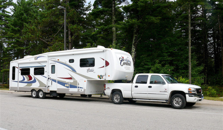 Fifth Wheel Air Ride Suspension : Rv air ride suspension levels the load and softens