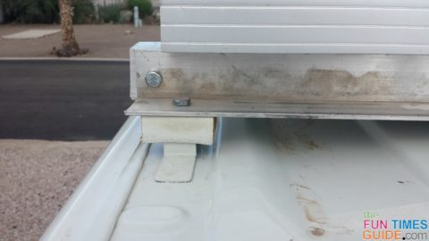 For my RV solar panels, I made brackets from aluminum angle stock to reach across the RV van roof.