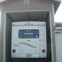 An RV Garage Protects Your RV Investment From Sun & Weather Damage