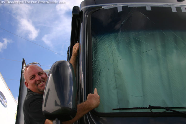 Rv window repair tips how to do it yourself the rving guide for How much does it cost to fix a window motor