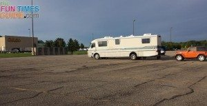 Cabela's free RV parking and dog kennels
