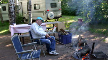 RV Camping & ATVing In Minnesota: Nemadji State Forest & Garfvert Campground