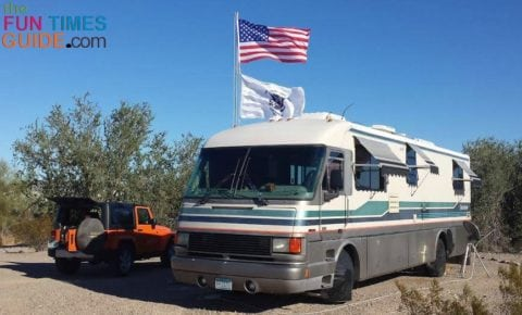 Cheap RV living is attainable for about $500 a month -- whether you drive and park for free for 1 month, or you spend a month at a time in an RV park.