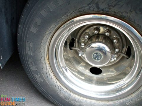 Cheap RV tires won't last long at all!