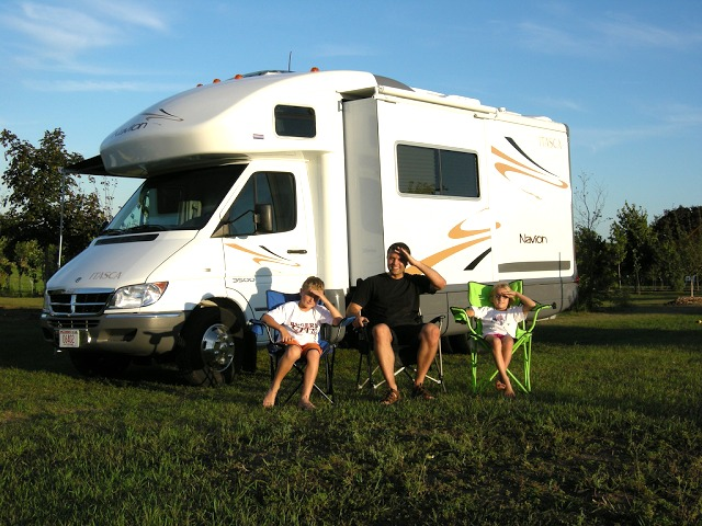 Family fun in an RV!