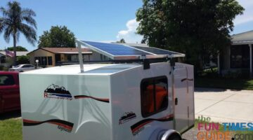 How To Install RV Solar Panels On A Small Teardrop Type Trailer