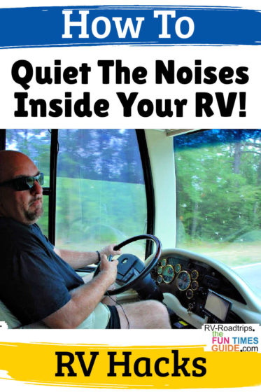 How to reduce RV noise