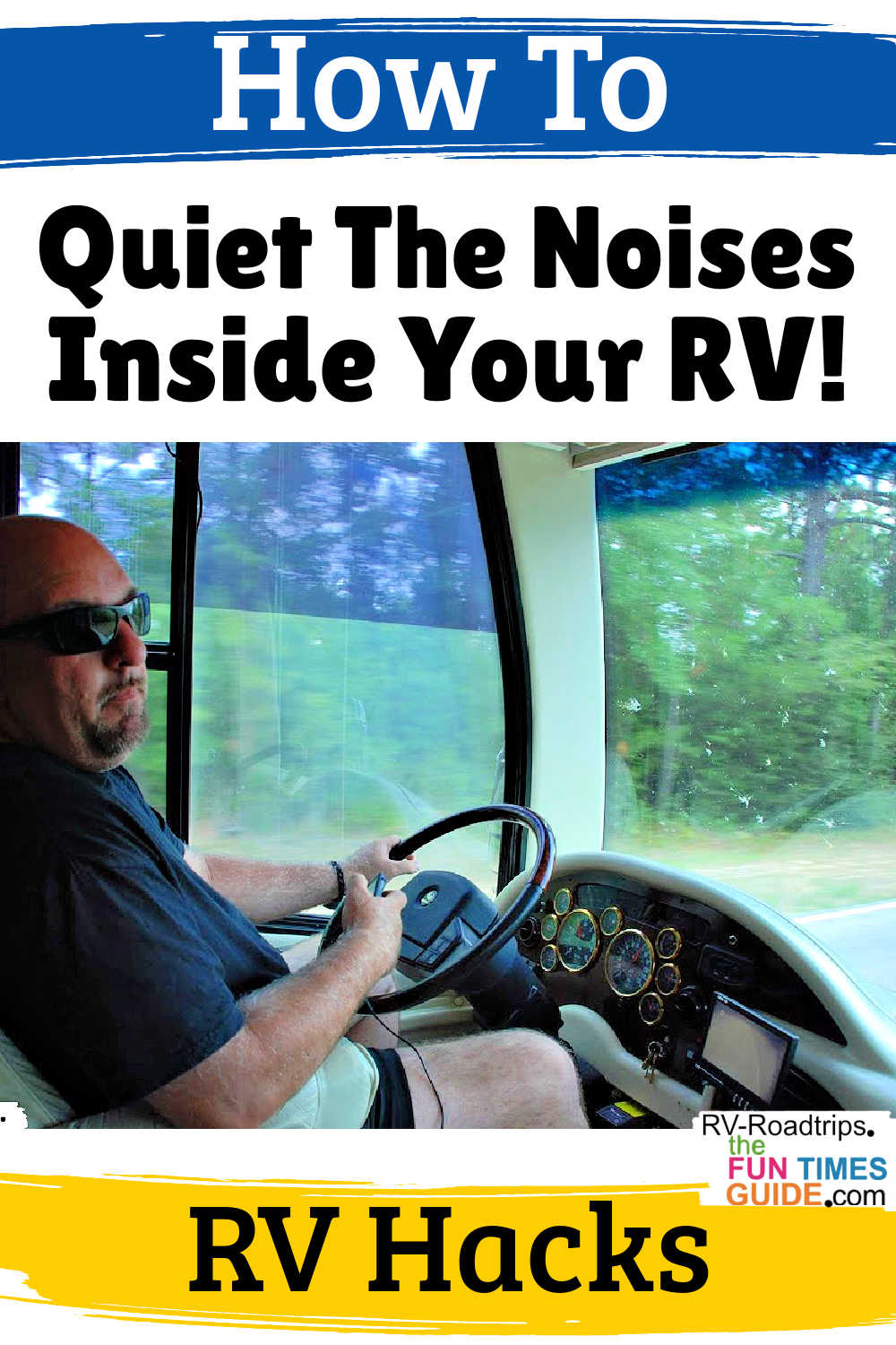 8 RV Hacks To Quiet The Noises Inside Your RV