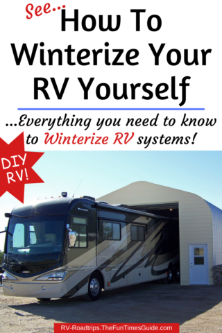 How to winterize your RV yourself
