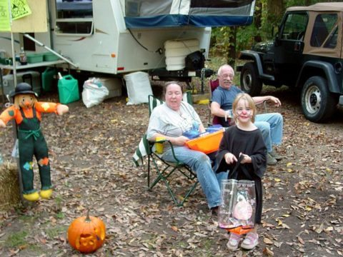 kids-trick-or-treating-campground
