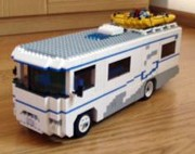 Lego RVs And Motorhomes Made From Legos