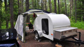 Teardrop RV Trailers & Other Super Lightweight Models Are Budget Friendly