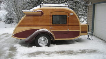 4 Reasons Teardrop Trailers Are Great For Winter Camping