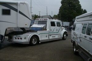 Improve Your Safety On The Road By Towing With A Larger RV Truck