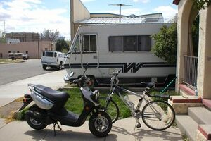 Scooters & Bicycles Make Good RV Campground Transportation