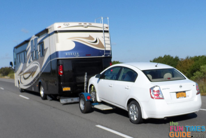 Can You Tow An Automatic Car Behind A Motorhome