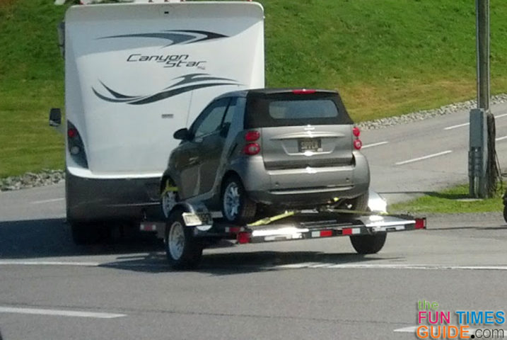 Cost Of Trailering A Car