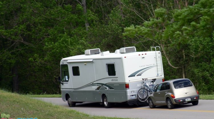 Motorhome Towing Guide: Flat Towing vs. Trailering Pros & Cons (Also, See Which Cars Can Be Towed With 4 Wheels Down)