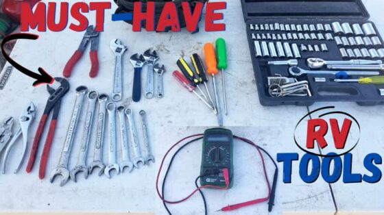 A checklist of must-have RV tools you should always have with you.