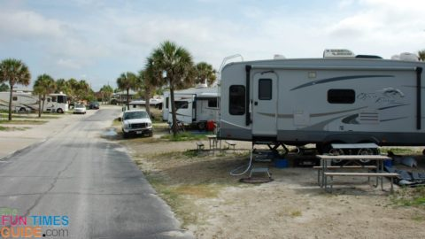 See a list of the benefits of living ON the grid in an RV park.