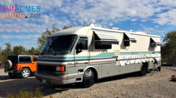 Want To Color Coordinate Your Motorhome With Your Toad? Here's How To Paint RV Stripes Yourself
