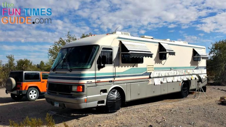 Want To Color Coordinate Your Motorhome With Your Toad Here S How
