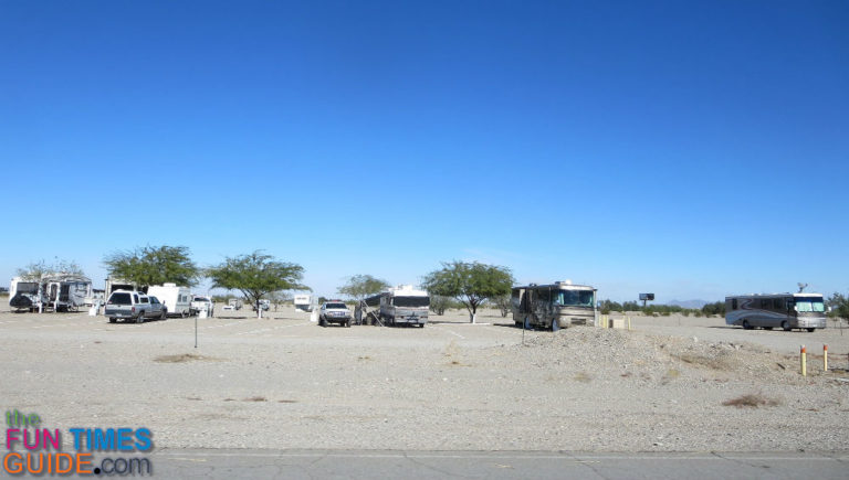 An Rver S Point Of View Of Quartzsite Az What It S Really