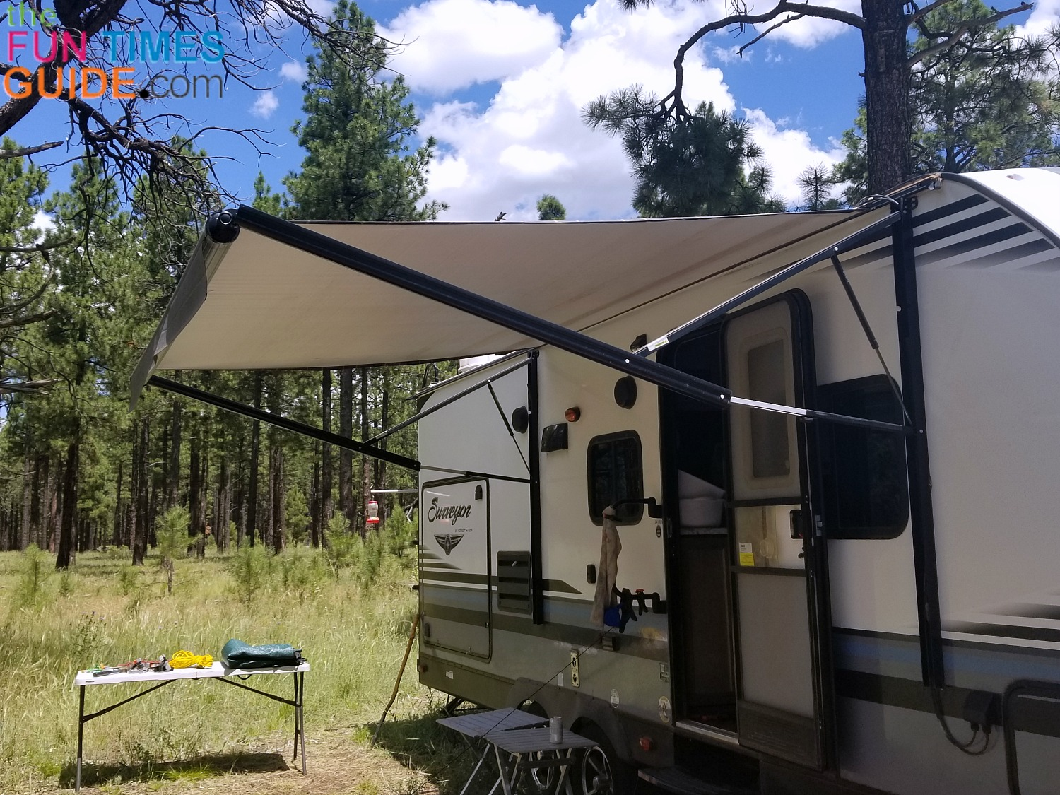 Diy Rv Awning Shade Canopy Photos Video To Make Your