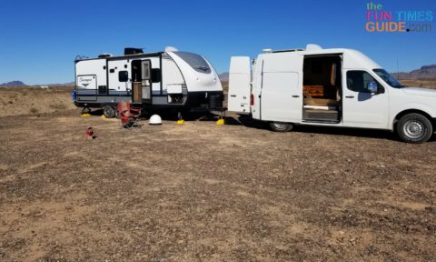 My setup for fulltime RVing off the grid includes a lot of solar power.