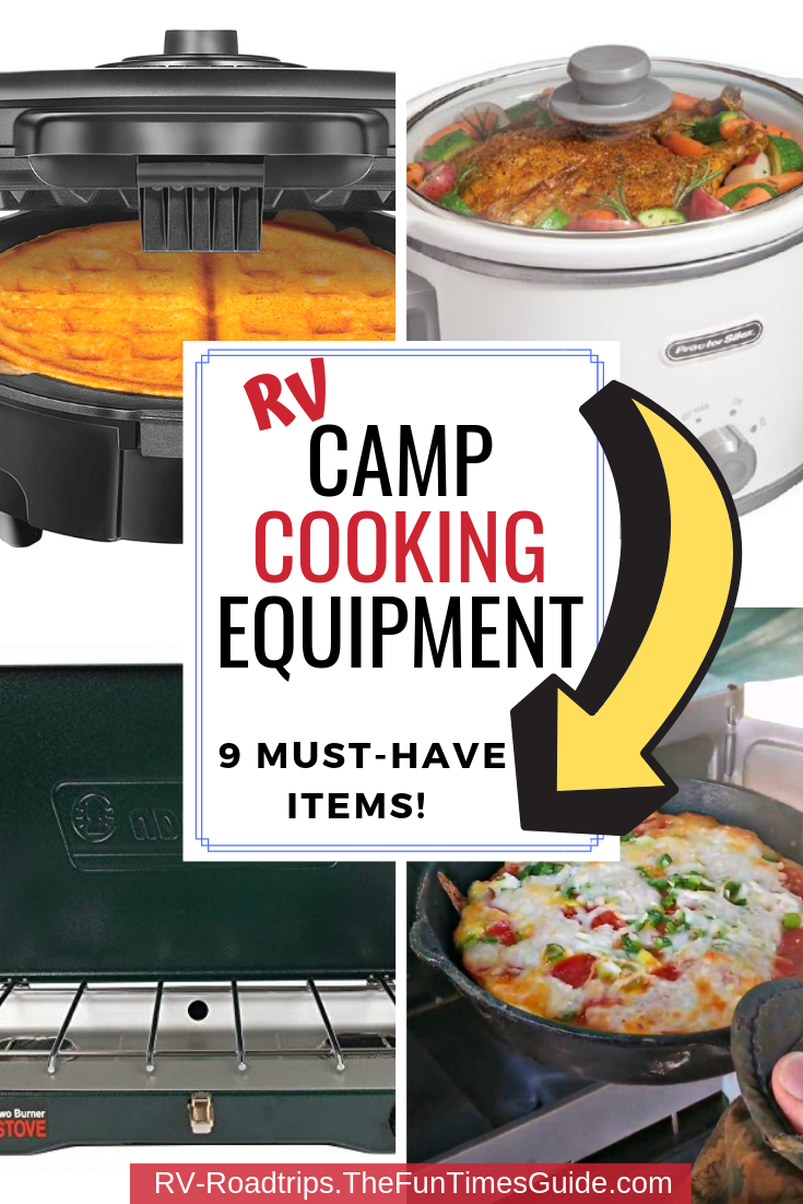 Camping Cooking Equipment For RVers: All The Best Camping Appliances That Make Full-Time RV Cooking A Breeze!