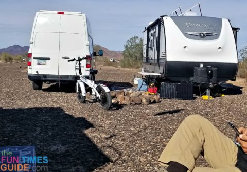 The best electric bike for RV camping