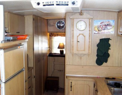 You need a separate RV checklist for the RV interior things.