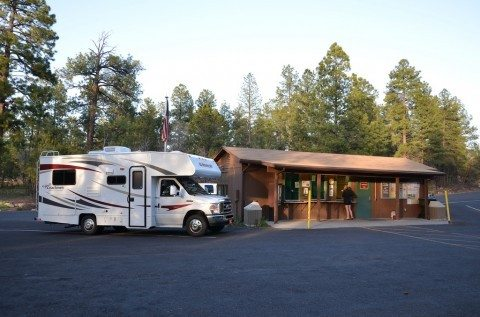 You can also find some office supplies and services at a number of RV campgrounds and resorts. photo by Grand Canyon NPS on Flickr