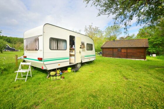 Many people park their RV on the grass when it's not being used. Do Not Do This! See why...