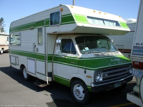 This one would be a great remodeling RV project!