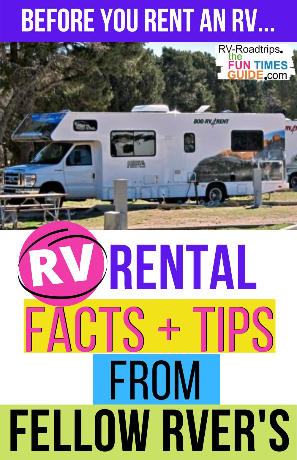 Before You Rent An RV… Here Are The Best Places To Find Rental RVs And RV Rental Insurance