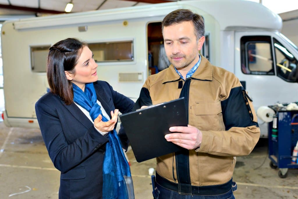 RV dealers don't like to see modifications and add-ons when they're considering RV trade-ins.