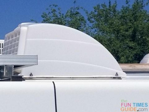 RV roof vent covers allow you to leave the roof vents open -- so heat and moisture can escape.