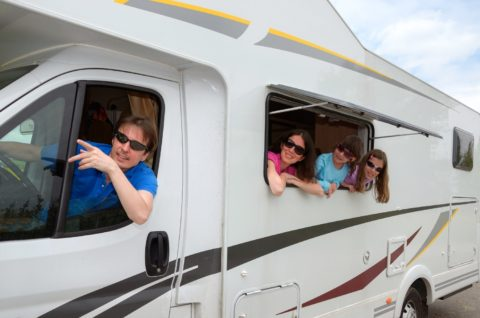 See what the RV seat belt laws are by state for children and adults riding inside RVs.