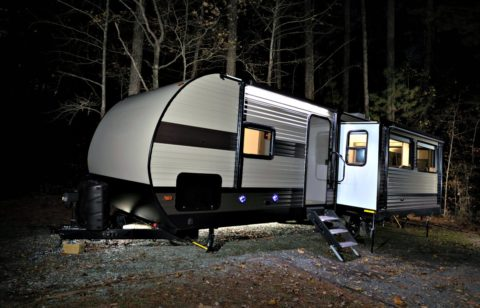 RV slide-out supports are stabilizers that keep the slide-out from sagging.