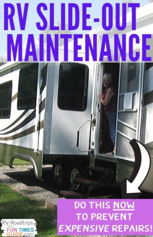 RV slide-out maintenance tips to help you avoid expensive RV slide-out-repairs.