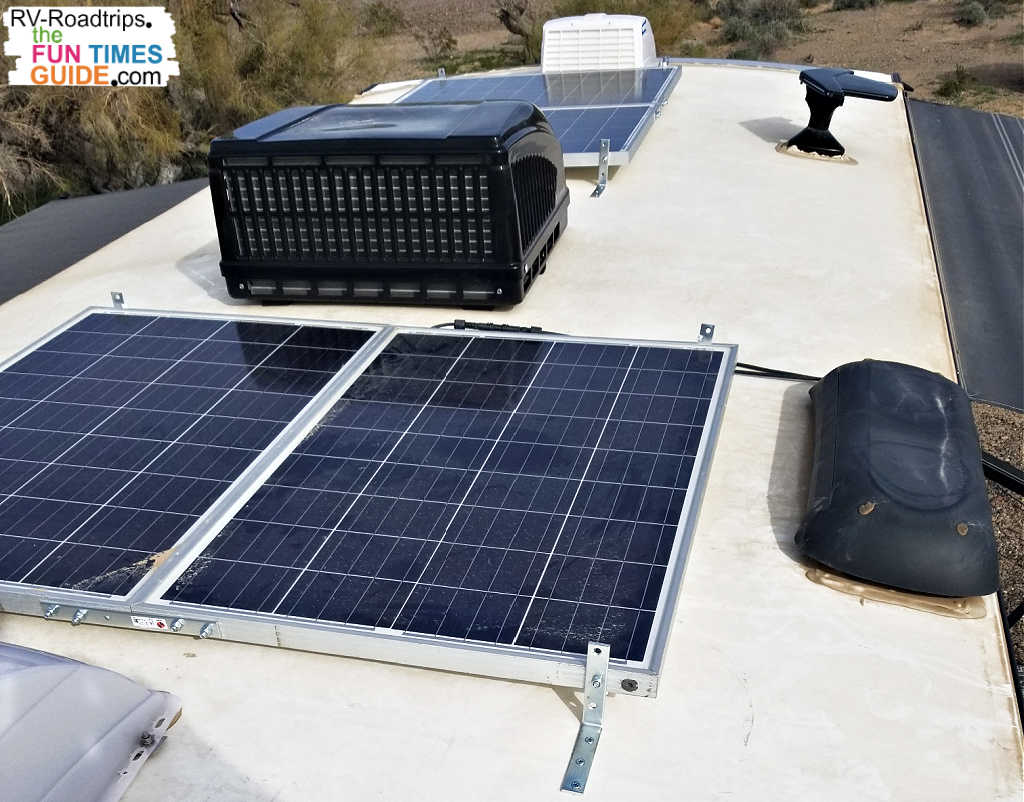 An RV solar system can be used in place of a noisy generator... and it's noise-free!