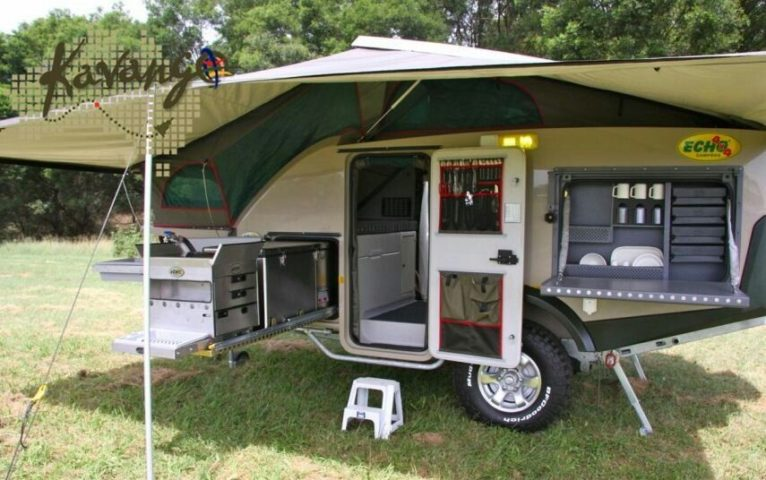 All Terrain Camping With A 4x4 Vehicle And An Off Road