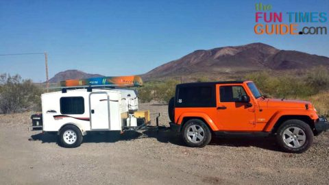 runaway campers - an affordable teardrop trailer