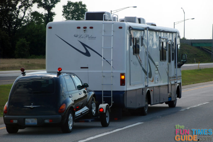 Choosing The Right RV Tow Dolly So You Can Tow A Car ...