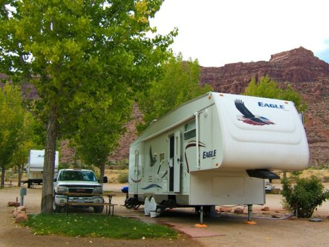 You need a separate RV checklist for the RV exterior things.