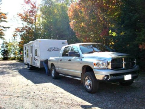 Anything on the hitch of an RV travel trailer is easily accessible... by anyone!