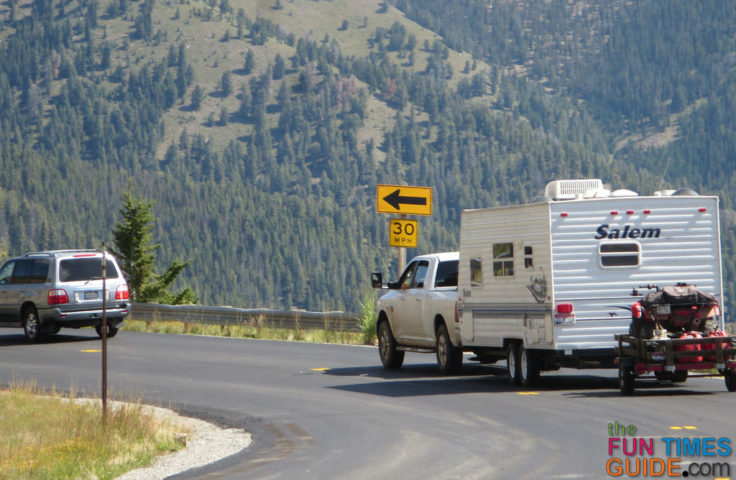 RV Double Towing & Triple Towing Laws By State And By ...