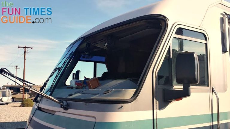 Got A Cracked WIndshield? Here's What I've Learned About RV