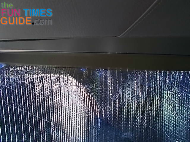 A DIY RV Windshield Sun Shade Idea Reflective Bubble Wrap
